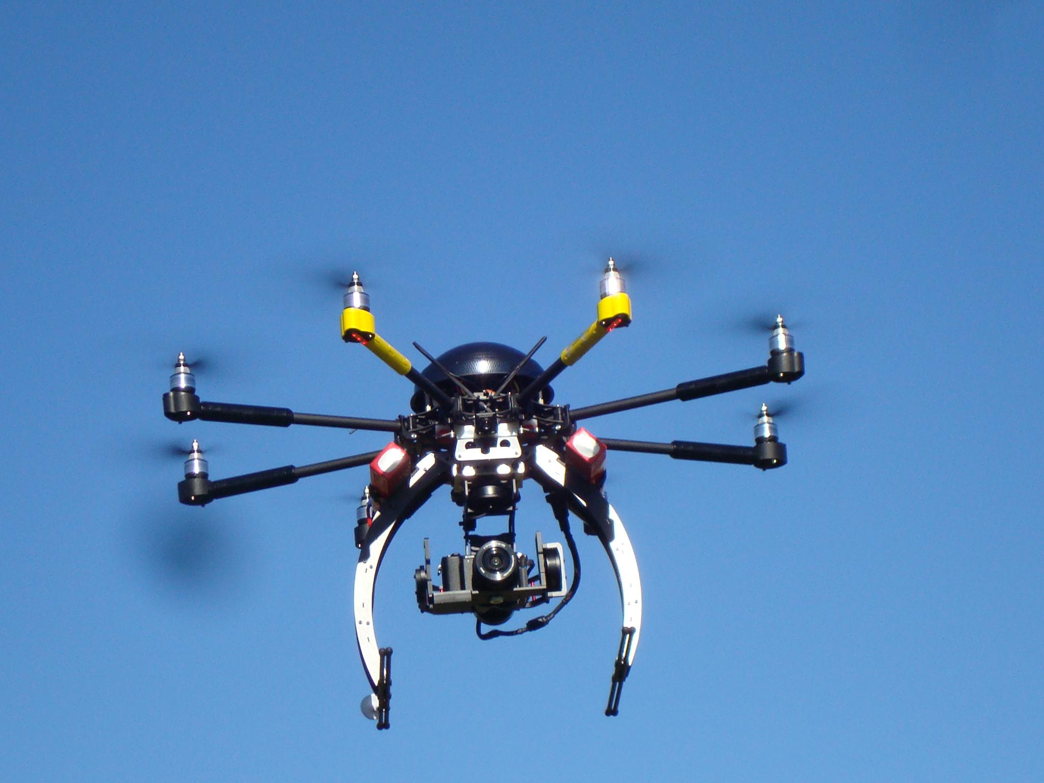 Trabajos con Drones