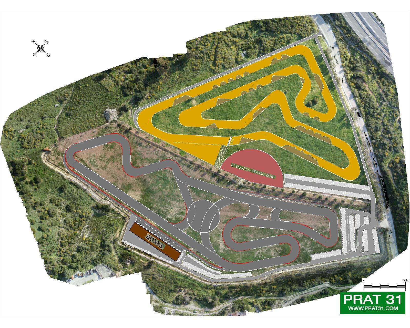Circuito Karts : Circuitos de motocross y karts en casares prat